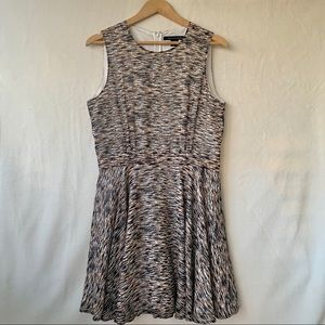 French connection animal print dress